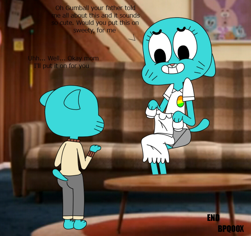 world naked amazing gumball gumball of the Hentai all the way through