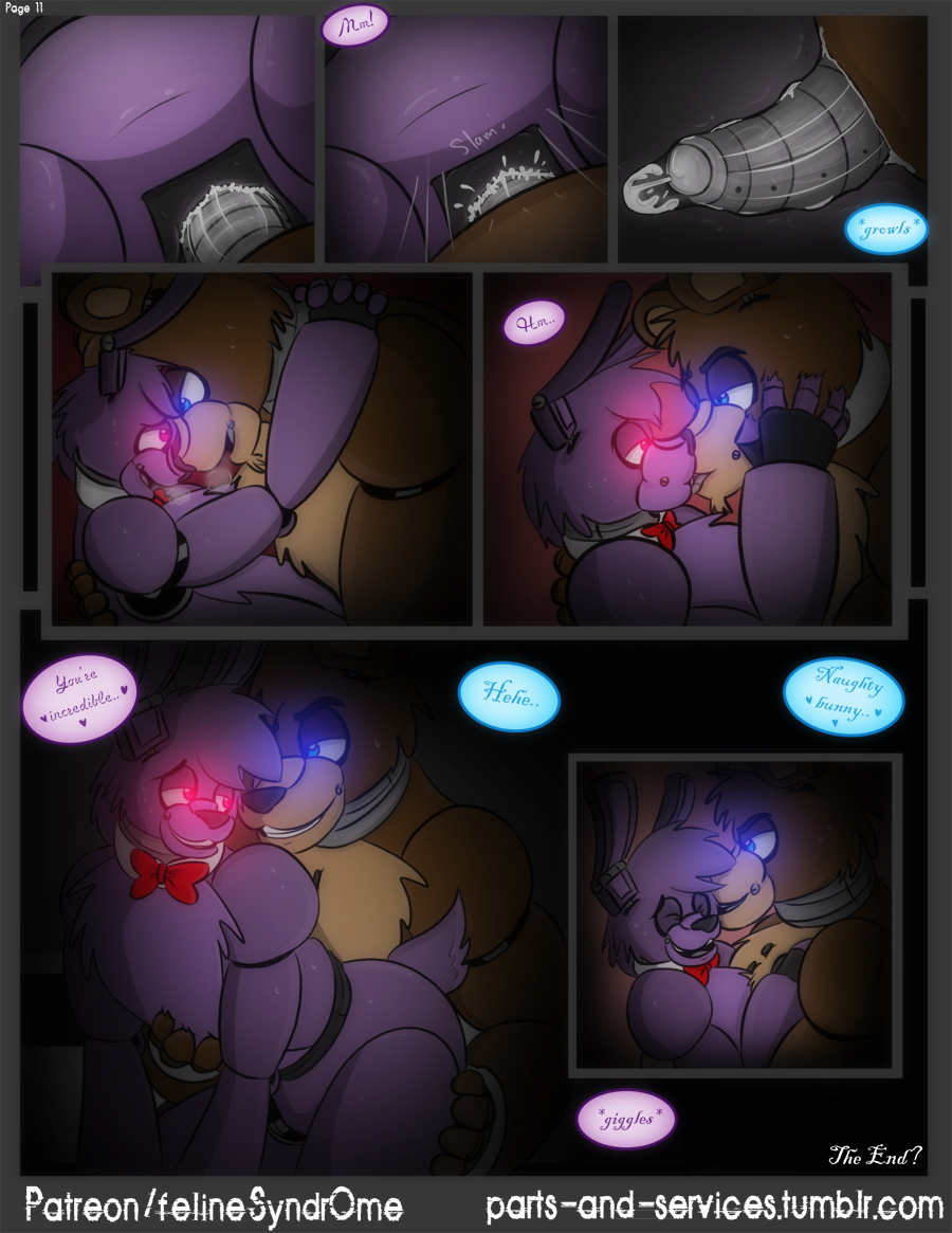 five comic at nights xxx freddy's Trials in tainted space furfag