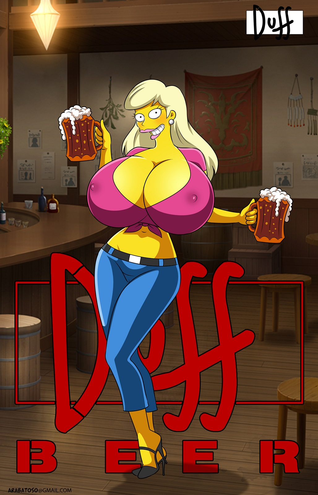 from naked simpsons marge the Legend of queen opala gallery